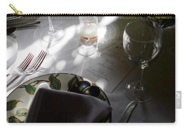 Pretty Place Setting Carry-all Pouch
