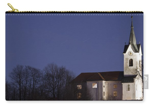 Prezganje Church At Dusk Carry-all Pouch
