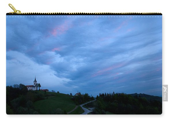Prezganje Church At Sunset Carry-all Pouch