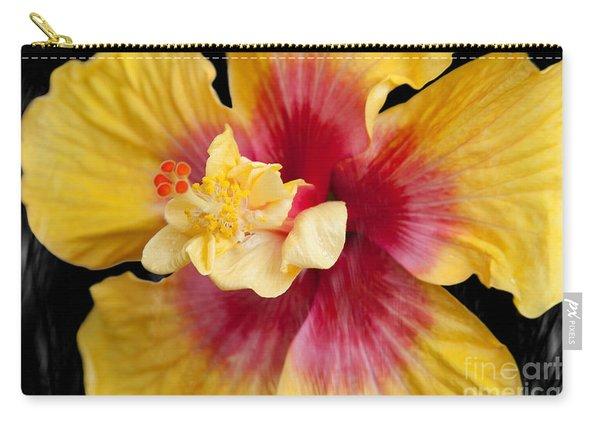 Pua Aloalo Kahaulani Lahilahi Tropical Hibiscus Hawaii Carry-all Pouch