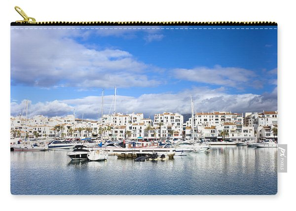 Puerto Banus Marina On Costa Del Sol Carry-all Pouch