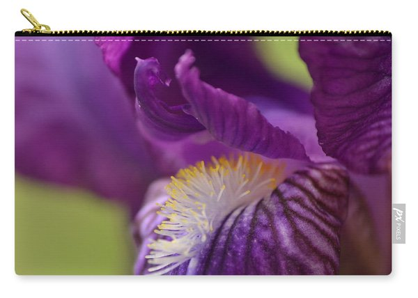 Purple Iris 1 Carry-all Pouch