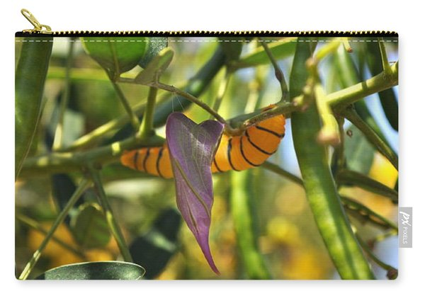 Purple Pink Green Chrysalis  Carry-all Pouch