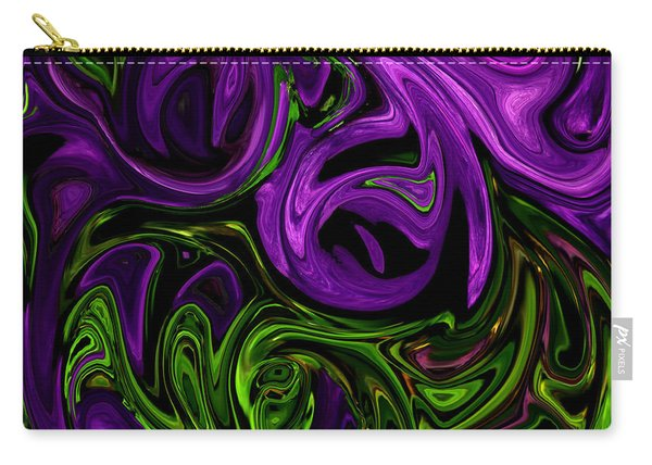 Purple Transformation Carry-all Pouch