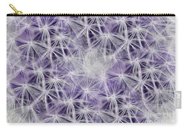 Purple Wishes Carry-all Pouch