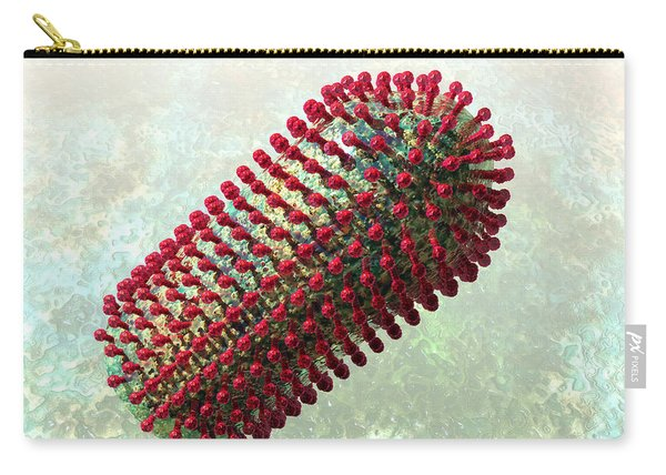 Rabies Virus 2 Carry-all Pouch