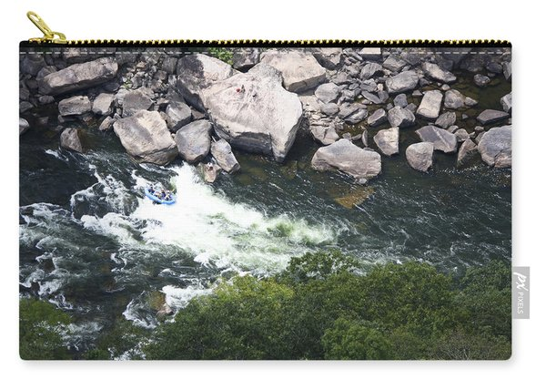 Rafters On The New River 3 Carry-all Pouch