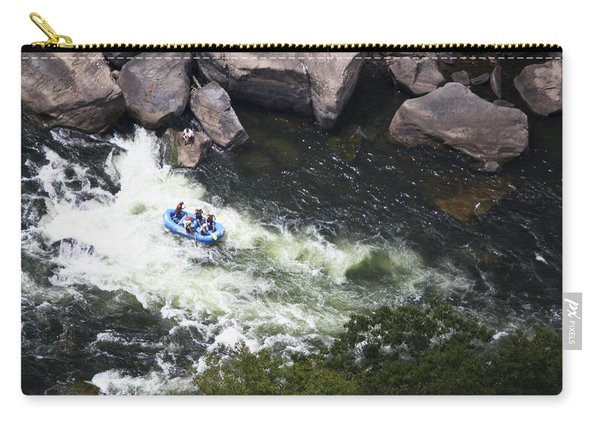 Rafters On The New River 4 Carry-all Pouch