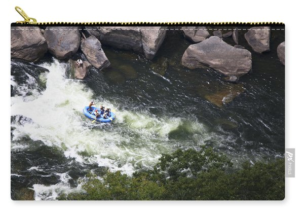 Rafters On The New River 5 Carry-all Pouch