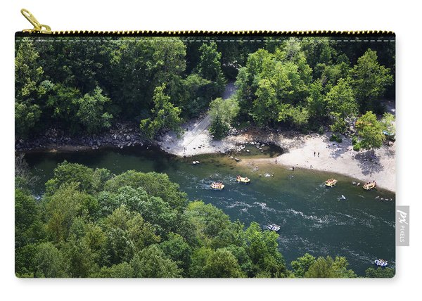 Rafting The New River Carry-all Pouch