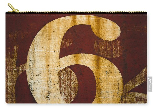 Railroad Car Number 6 Carry-all Pouch