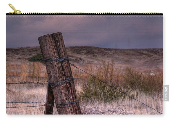 Ranch Fence Post Carry-all Pouch
