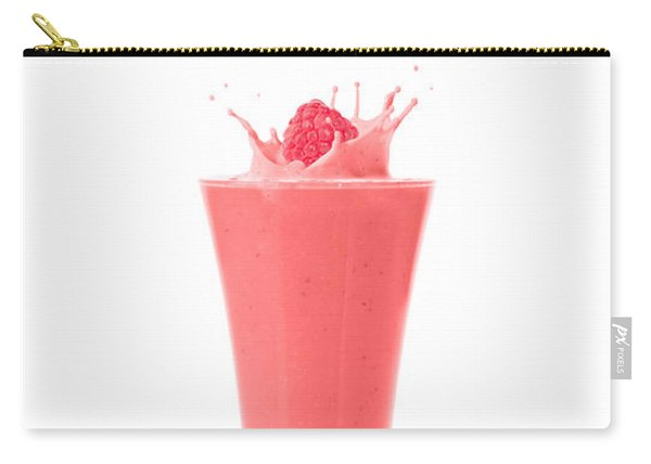Raspberry And Strawberry Smoothie Carry-all Pouch