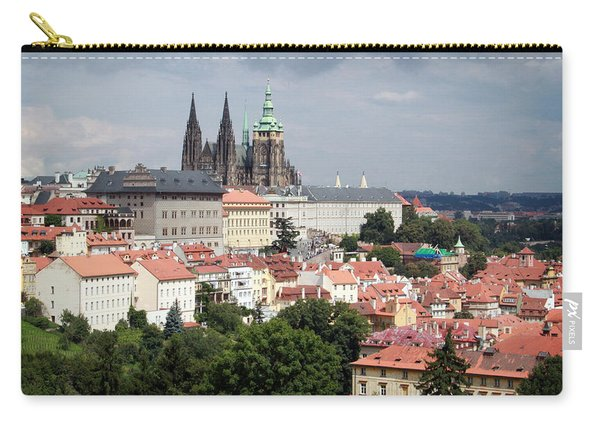 Red Rooftops Of Prague Carry-all Pouch