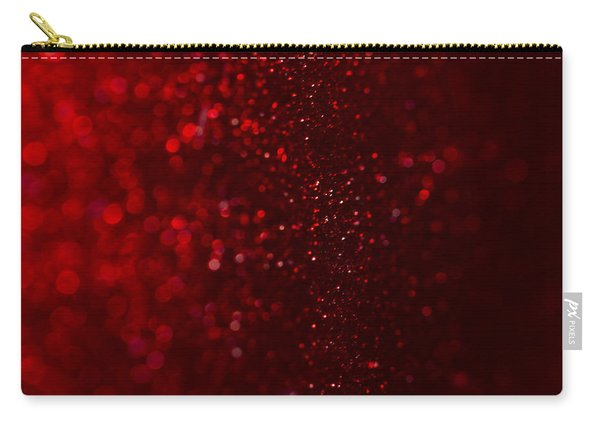 Red Sparkle Carry-all Pouch