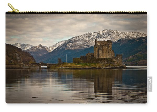 Reflection At Eilean Donan Carry-all Pouch