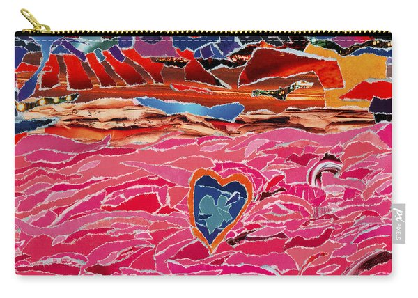 River Of Passion Carry-all Pouch