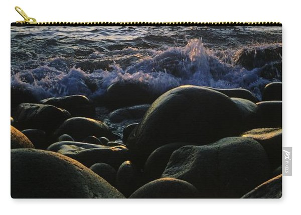 Rocks At The Coast, Giants Causeway Carry-all Pouch