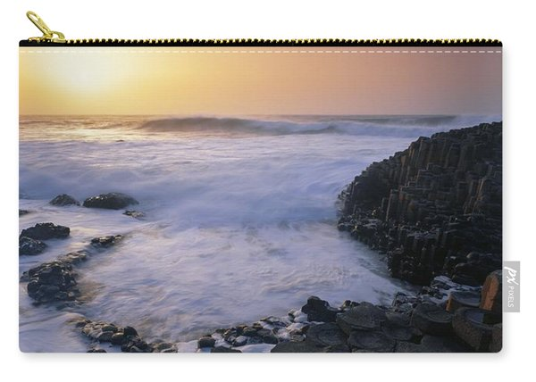 Rocks On The Beach, Giants Causeway Carry-all Pouch