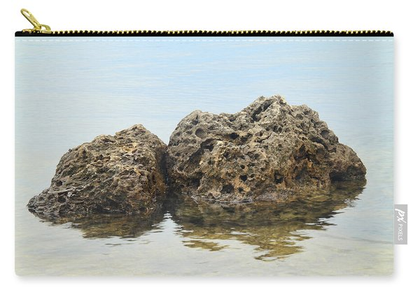 Rocks With Reflection Carry-all Pouch