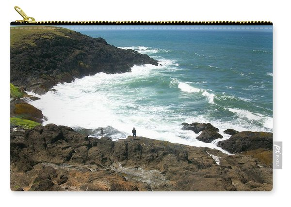 Rocky Ocean Coast Carry-all Pouch
