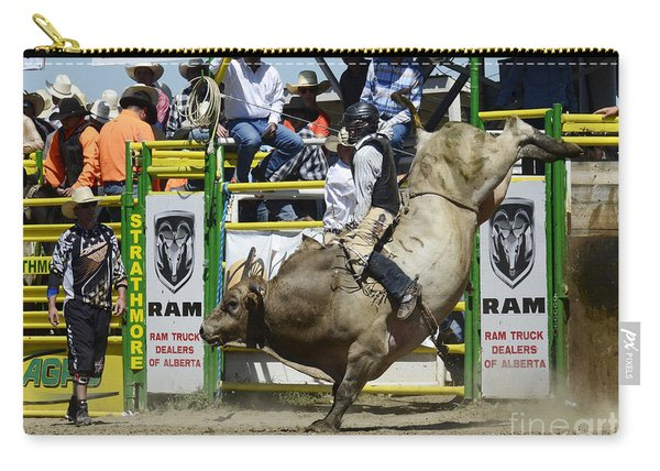Rodeo Bull Riding Star Carry-all Pouch