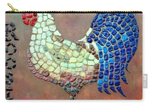 Carry-all Pouch featuring the painting Rooster Lane by Cynthia Amaral