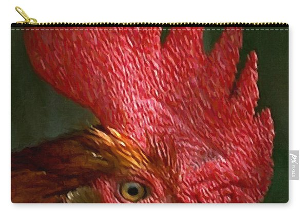 Rooster - Painterly Carry-all Pouch