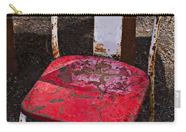 Rusty Metal Chair Carry-all Pouch