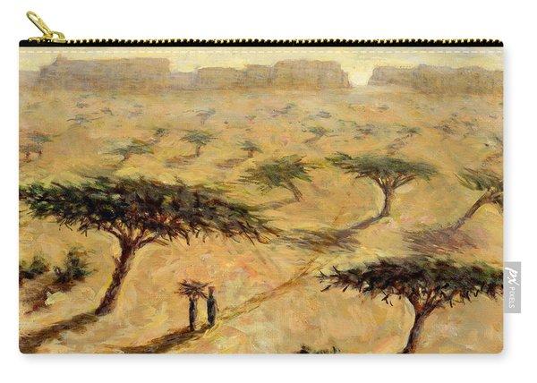 Sahelian Landscape Carry-all Pouch