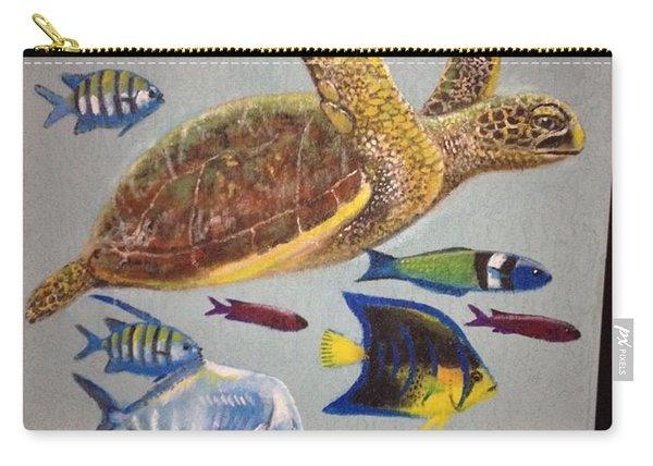 Sailfish Splash Park Mural 10 Carry-all Pouch