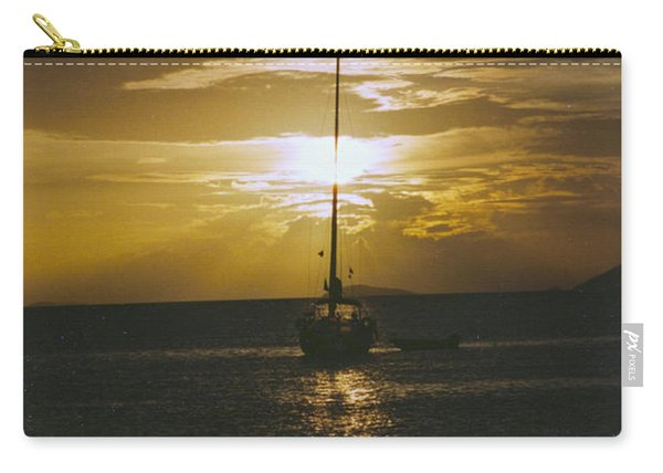 Sailing Sunset Carry-all Pouch