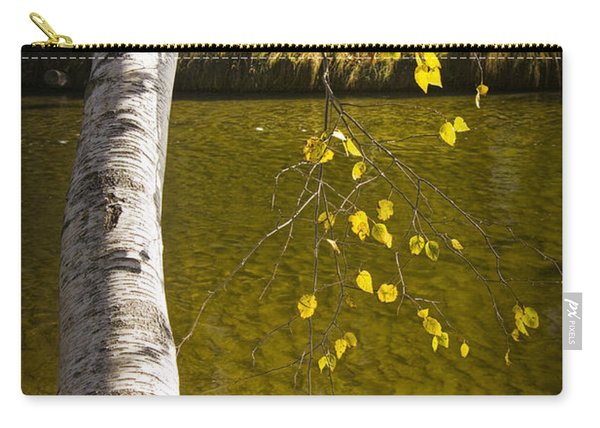 Salmon During The Fall Migration In The Little Manistee River In Michigan No. 0887 Carry-all Pouch