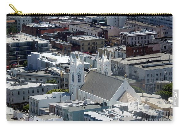 San Francisco St Francis Of Assisi Church Carry-all Pouch