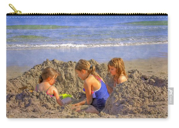 Sandy Fingers Sandy Toes Carry-all Pouch