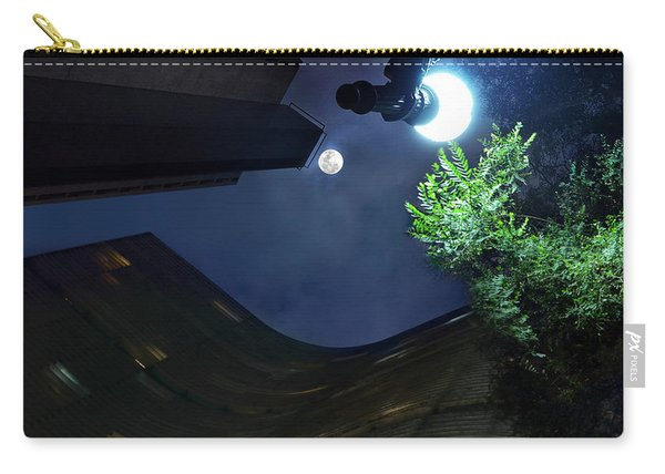 Copan Building And The Moonlight Carry-all Pouch