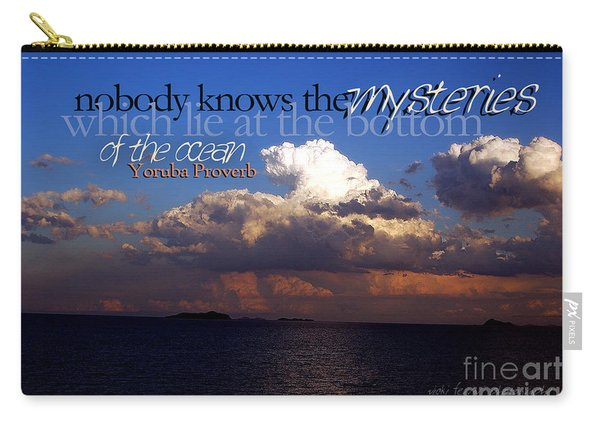 Sea The Mystery Carry-all Pouch