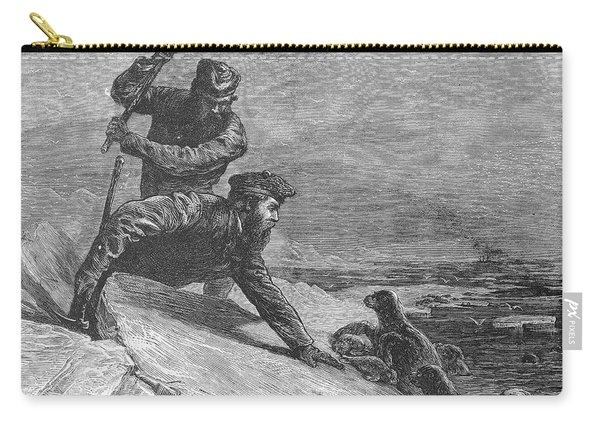 Seal Hunting, 1874 Carry-all Pouch