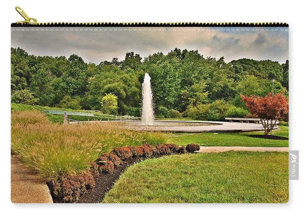 September - Garden Of Reflection Carry-all Pouch