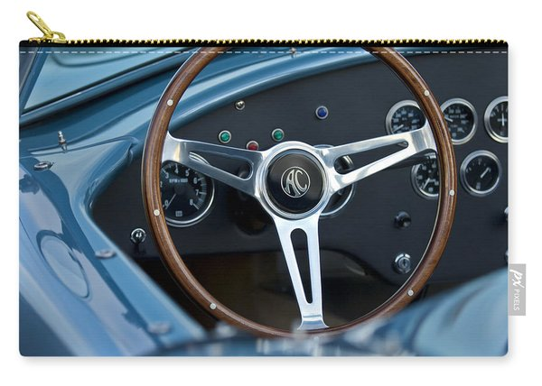 Shelby Ac Cobra Steering Wheel Carry-all Pouch
