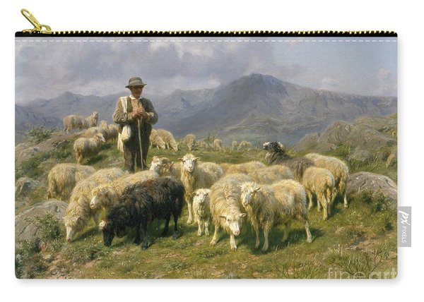 Shepherd Of The Pyrenees Carry-all Pouch