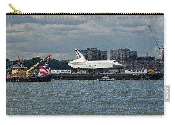 Shuttle Enterprise Flag Escort Carry-all Pouch