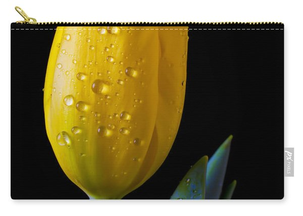 Single Yellow Tulip Carry-all Pouch