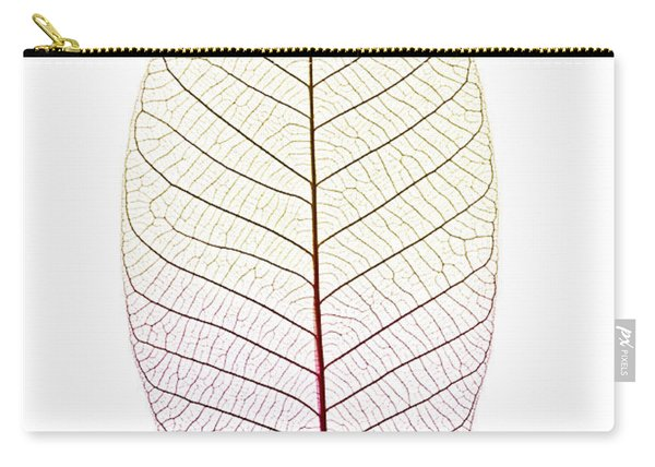 Skeleton Leaf Carry-all Pouch