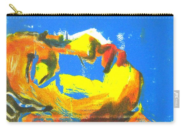 Carry-all Pouch featuring the painting Sleep by Gabrielle Wilson-Sealy