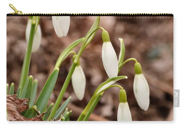 Snow Drops Carry-all Pouch