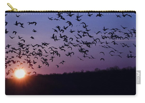 Snow Geese Migrating Carry-all Pouch
