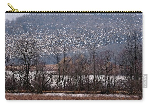 Snow Geese Rising Carry-all Pouch