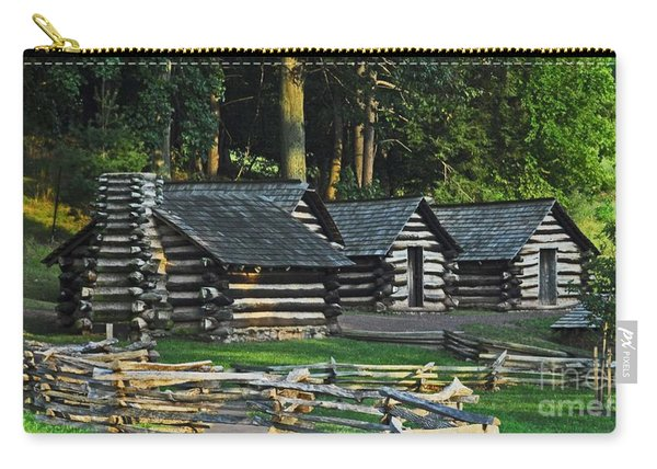 Soldiers Quarters At Valley Forge Carry-all Pouch
