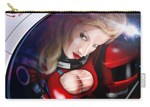 Space Girl Carry-all Pouch